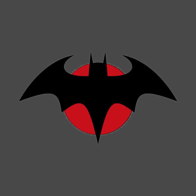 Flashpoint Batman logo Batman TShirt TeePublic