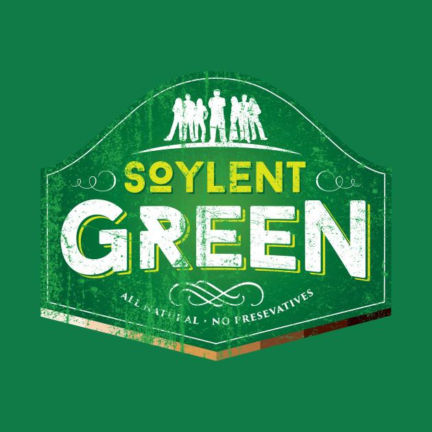 Soylent green cult movies t shirt teepublic for Soylent green