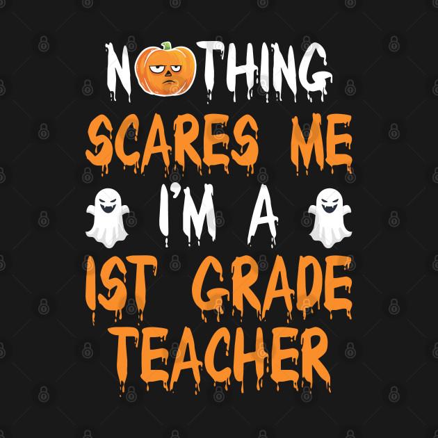 1ST GRADE TEACHER Halloween Costume Gift