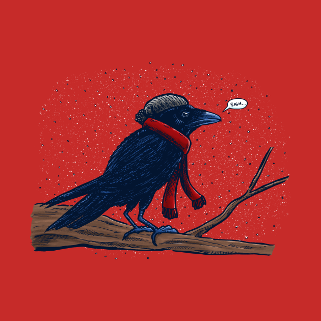 Annoyed IL Birds: The Crow