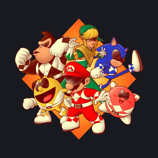 Mighty Gaming Rangers