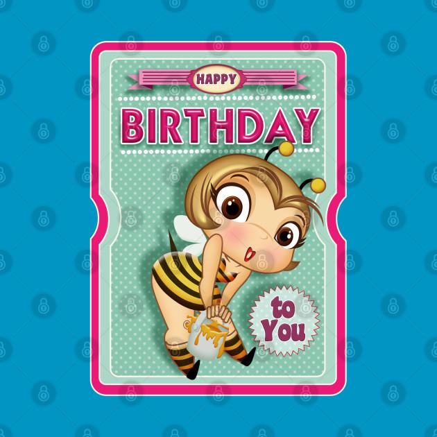 happy birthday bee