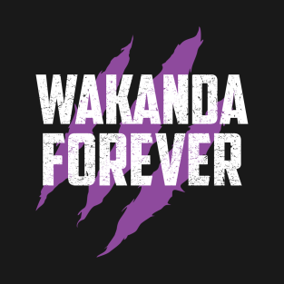 45e42a629 Wakanda Forever T-Shirts | TeePublic
