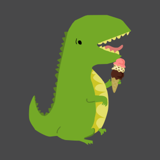 Ice Cream Rex t-shirts