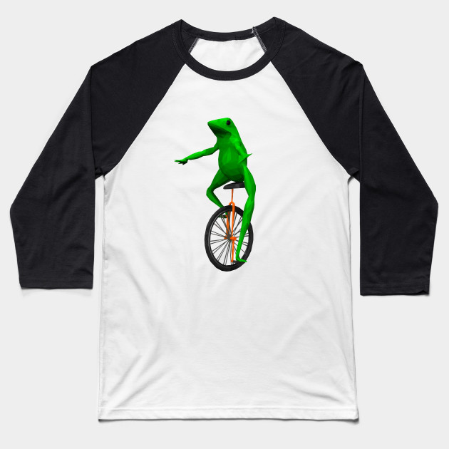 Dat Boi: frog on unicycle