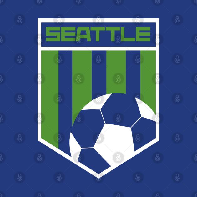 Seattle Football Soccer Jersey Style