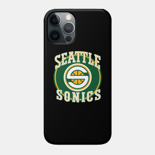 Seattle Supersonics Phone Cases - iPhone and Android   TeePublic