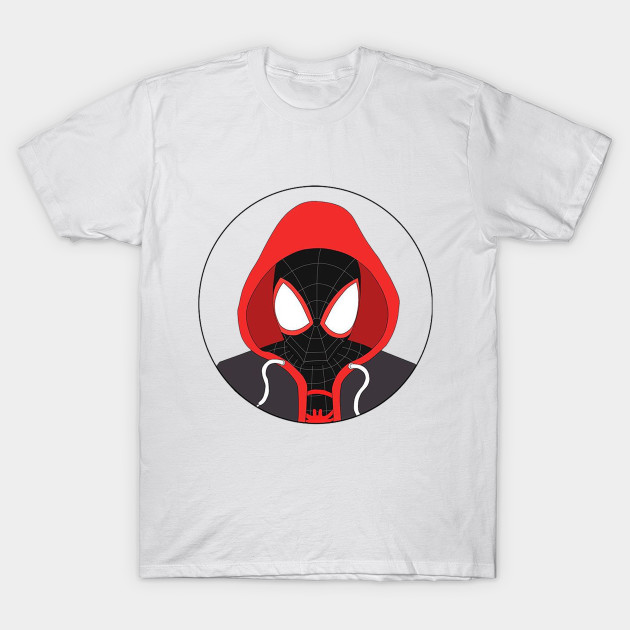b1b4aa37 Miles Morales - Spiderman Into The Spiderverse Spiderman - T-Shirt ...