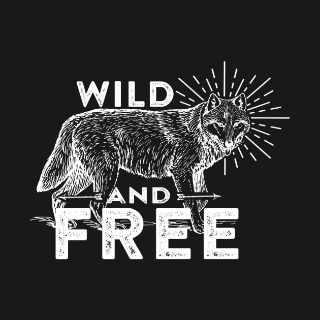 Wolf Wild and Free