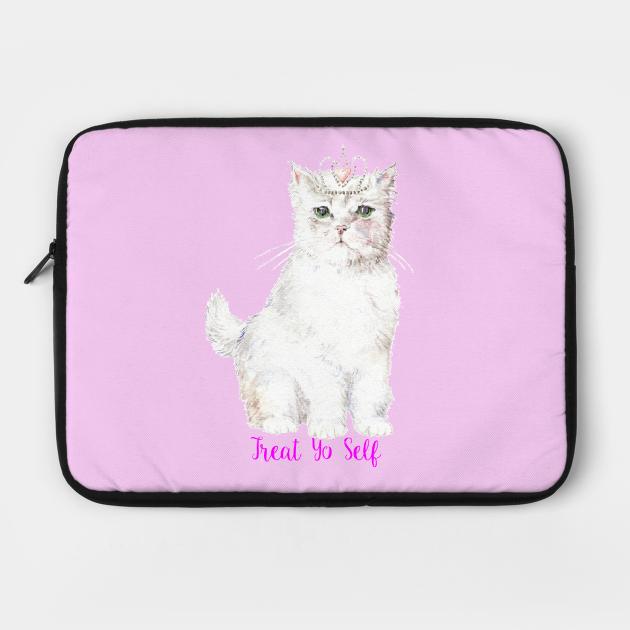 Treat Yo Self Princess Cat