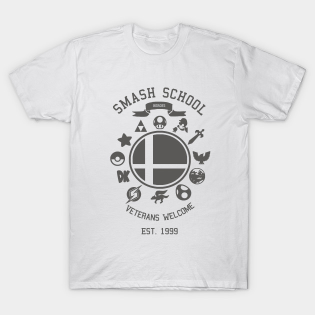 Smash School Veteran Class (Grey)