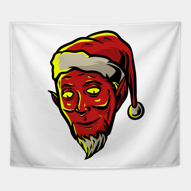 Evil Christmas Characters.Evil Santa