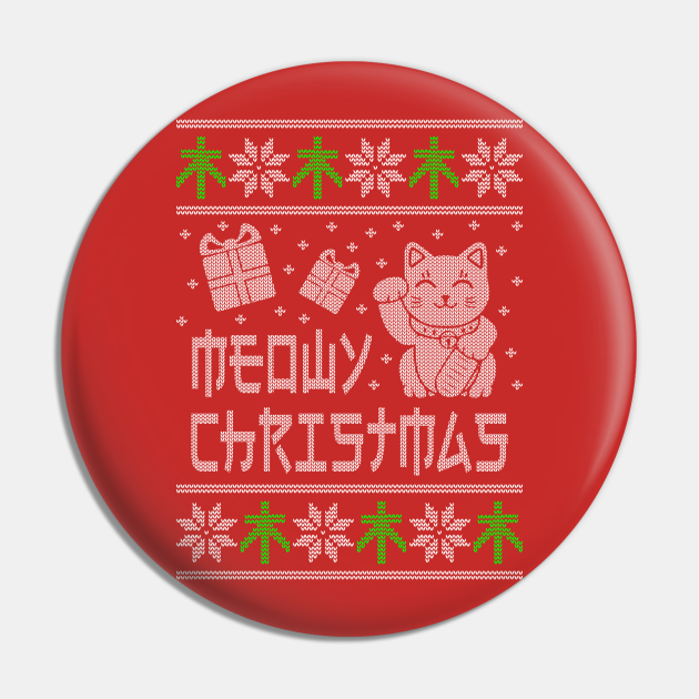 Meowy Christmas Ugly Cat Shirt and Sweatshirt