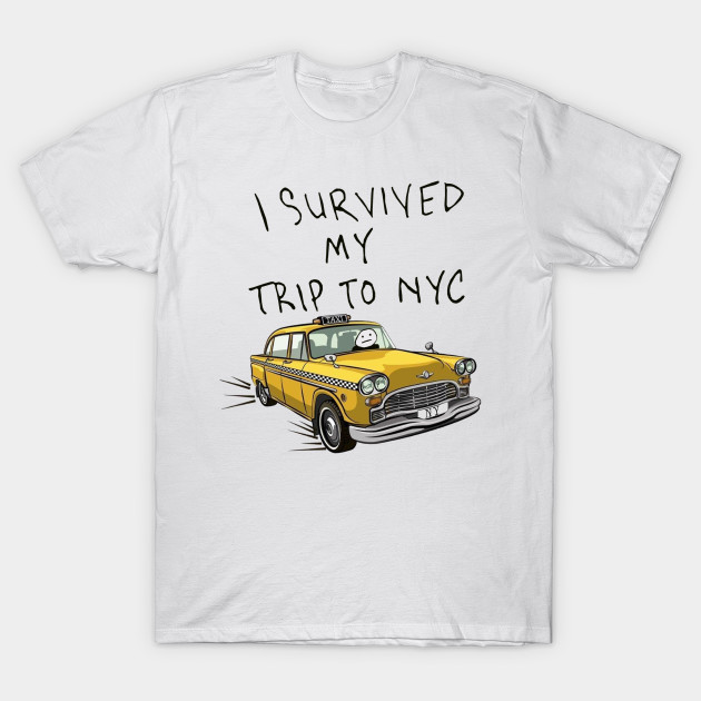 i survived my trip to nyc - Spider Man - T-Shirt  35e266df701