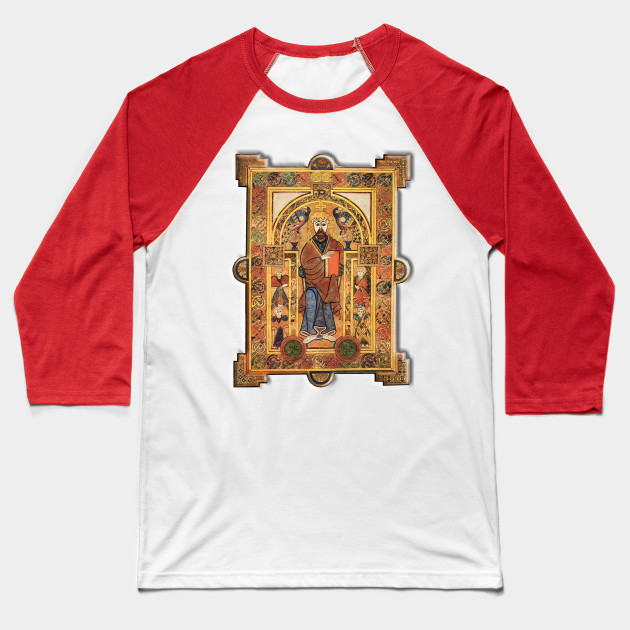 BOOK OF KELLS Baseball T-Shirt