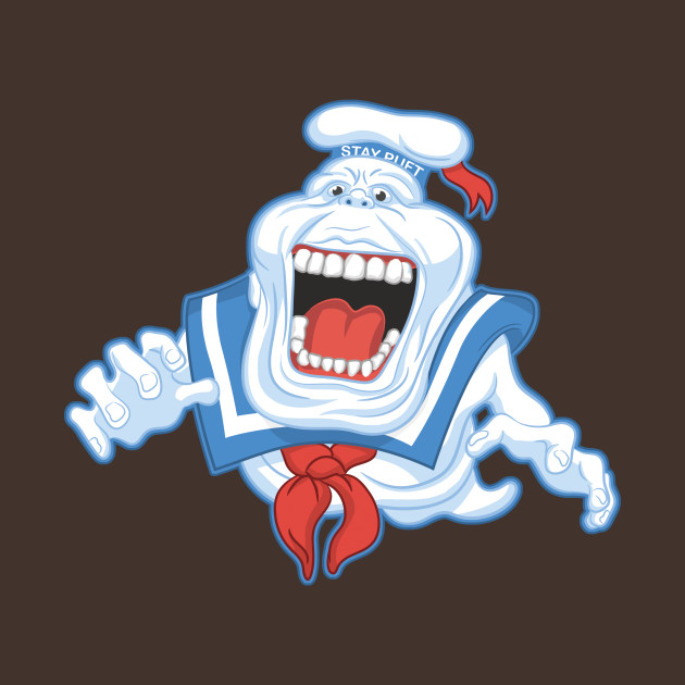 Ghostbusters Stay Puft Marshmallow Slimer T-Shirt