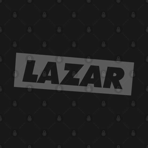 LazarBeam Logo in grey