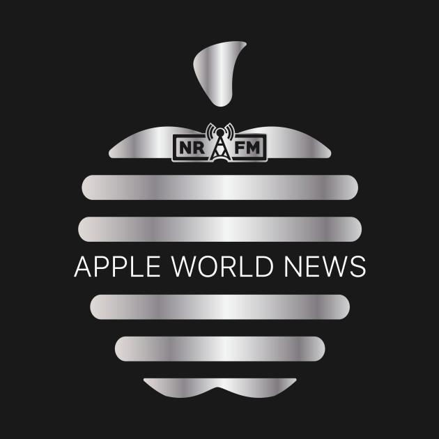 Apple World News Logo Tee (mono)