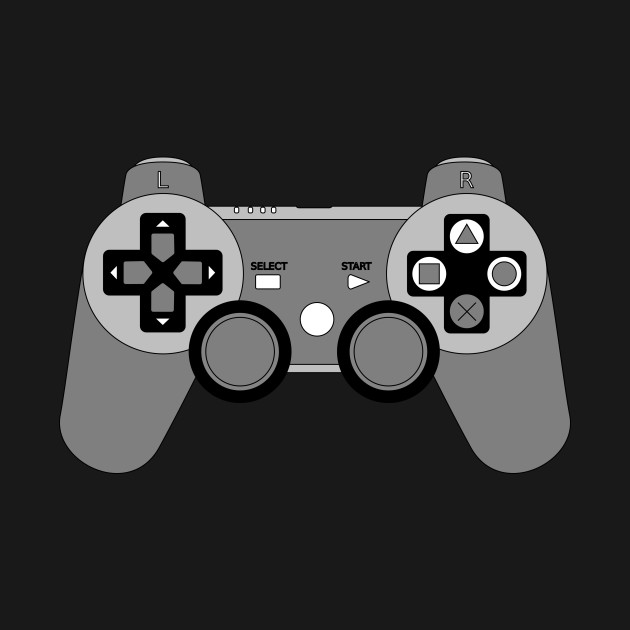 Video Game Inspired Console Playstation 3 Dualshock Gamepad