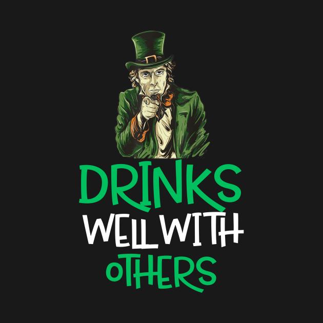 Irish Want You Abraham Saint Patrick Day