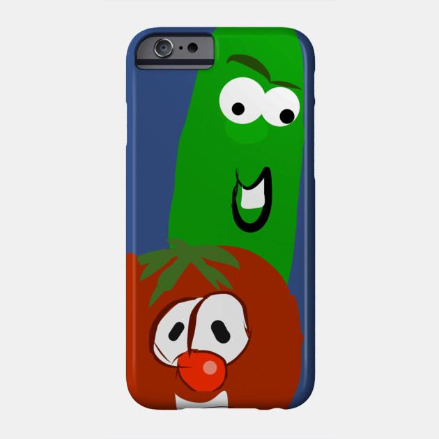 Cucumber And Tomato Friends Veggie Tales Cartoon Phone