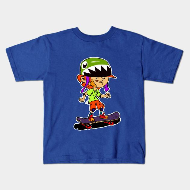 0d306d0d29 Skate Skateboard Skateboarding Boy T-Shirt