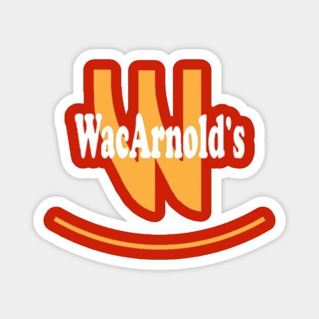 wacarnold s chappelle s show mcd s logo chappelle show magnet teepublic wacarnold s chappelle s show mcd s logo