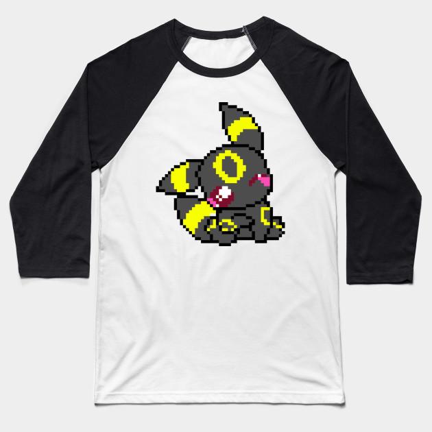 57f9e92c6 Cute Umbreon - Pokemon - Baseball T-Shirt   TeePublic
