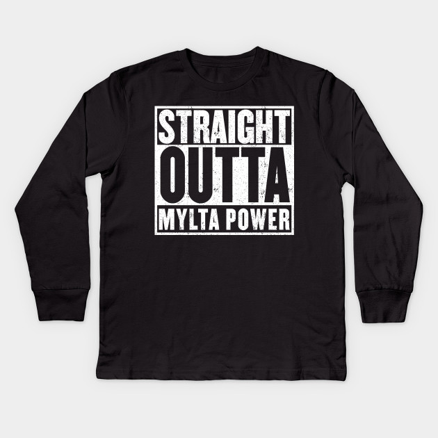 fbcb33ac Straight Outta Mylta Power - Battle Royal - Player Unknown - Kids ...