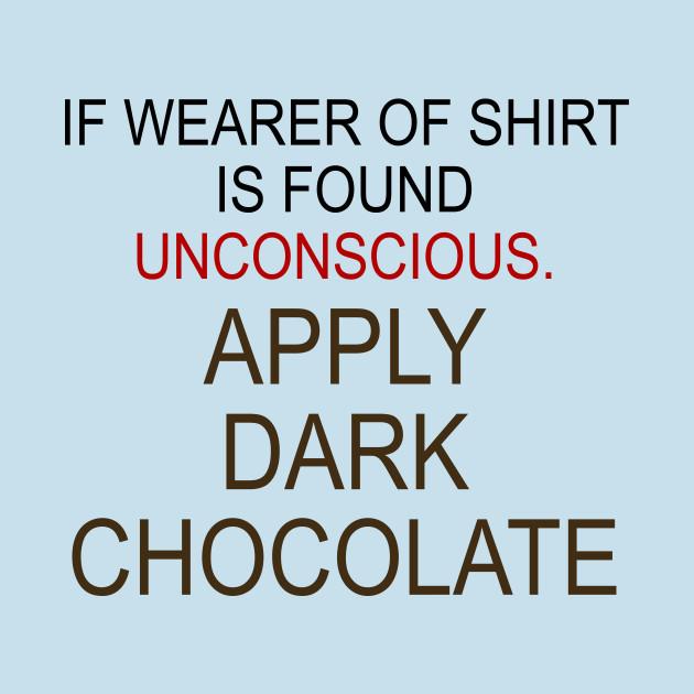 Apply Dark Chocolate Graphic Design