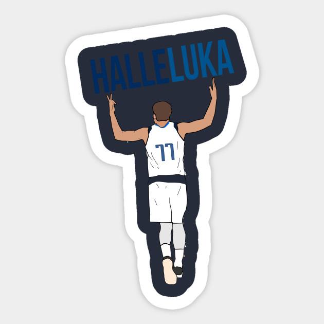 96f3ee4462a Luka Doncic  HalleLuka  - Dallas Mavericks - Nba - Sticker