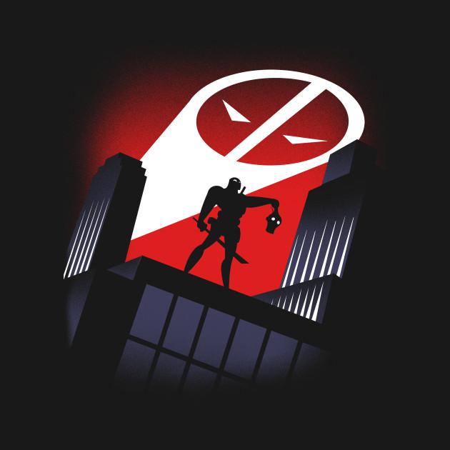 Deadpool the animated series deadpool t shirt teepublic for Deadpool show