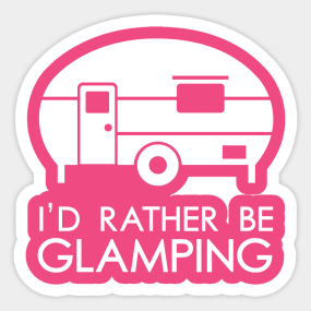 Happy Glamper Stickers