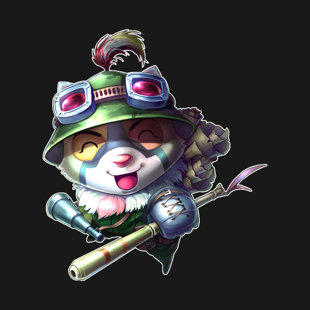 Teemo - League of Legends - White