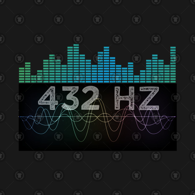 Solfeggio 432 HZ Sound Frequency Spiritual Healing Meditation Musical Note  Gift by psykograf