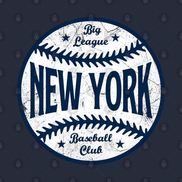 New York Retro Big League Baseball - Navy