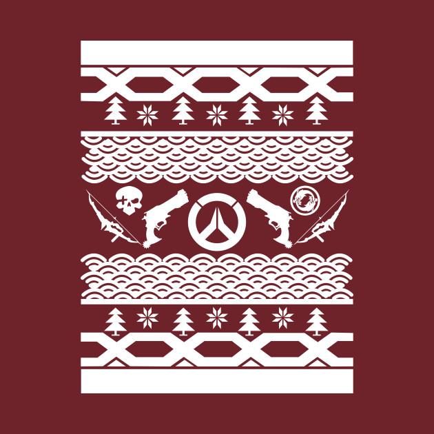 Mchanzo Ugly Christmas Sweater Overwatch T Shirt Teepublic
