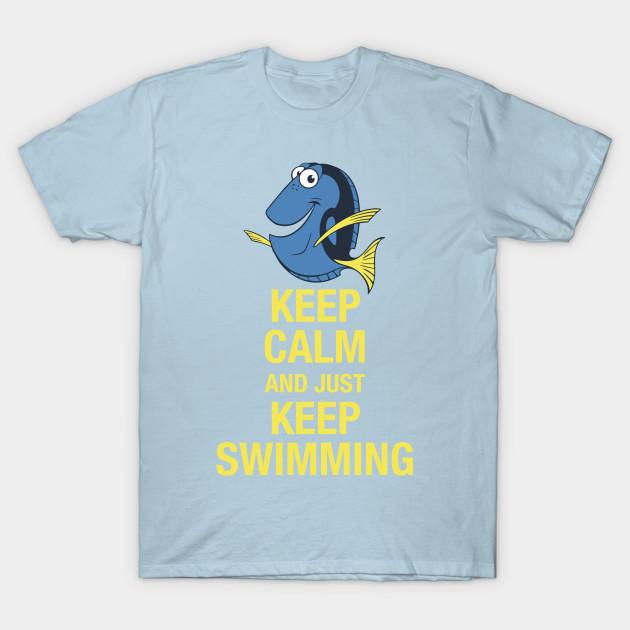 Dory Nemo Just Keep Swimming