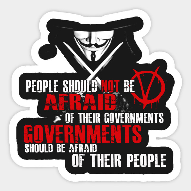 V FOR VENDETTA MOVIE QUOTE