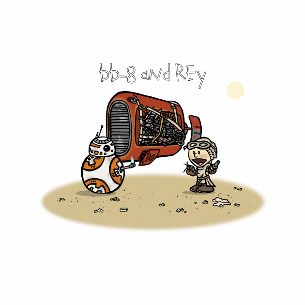 BB-8 and Rey
