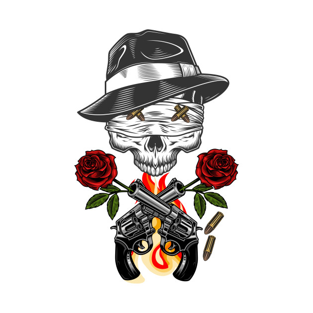 Skull Lovers - flowers