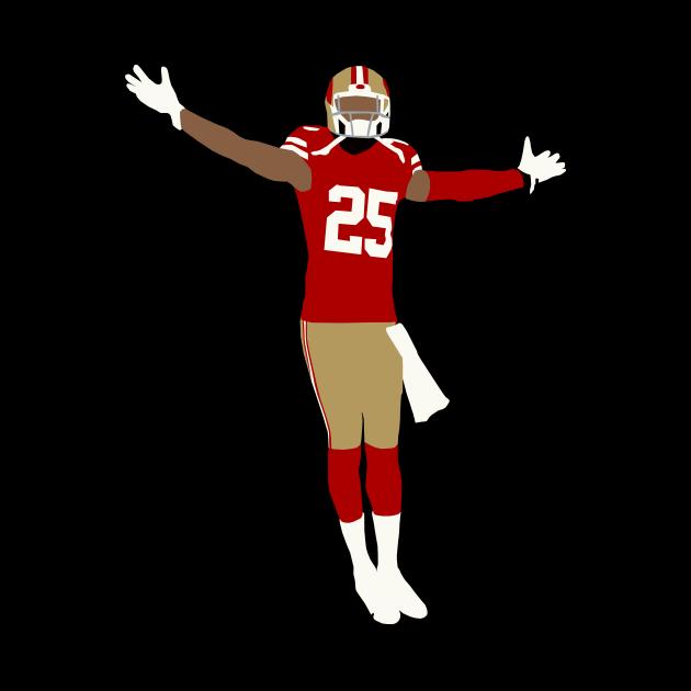 Richard Sherman 49ers Celebration