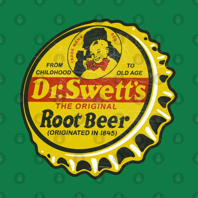 Vintage Dr Swett's Soda Bottle Cap