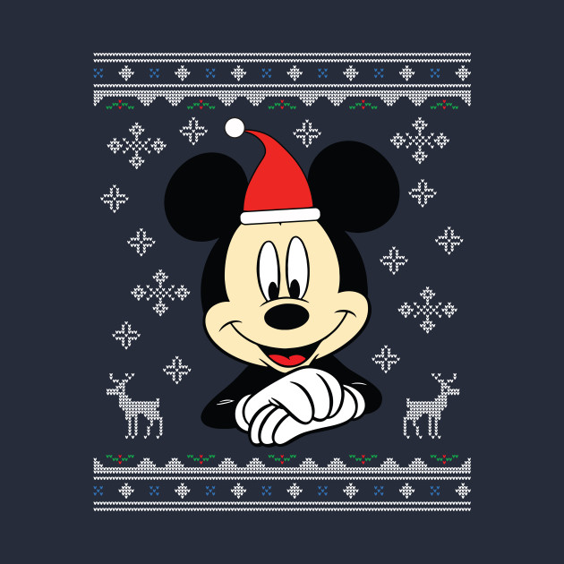 Christmas Disney Mickey Mouse Knit Pattern
