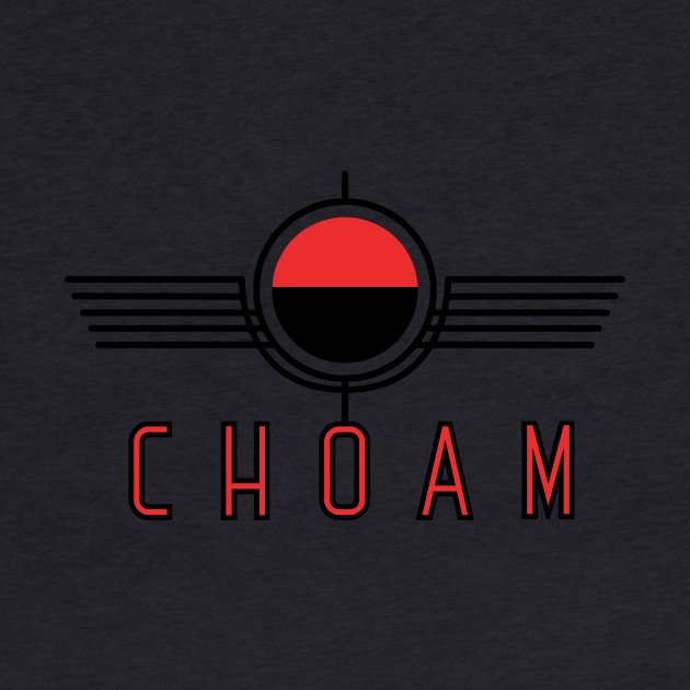 Choam logo red