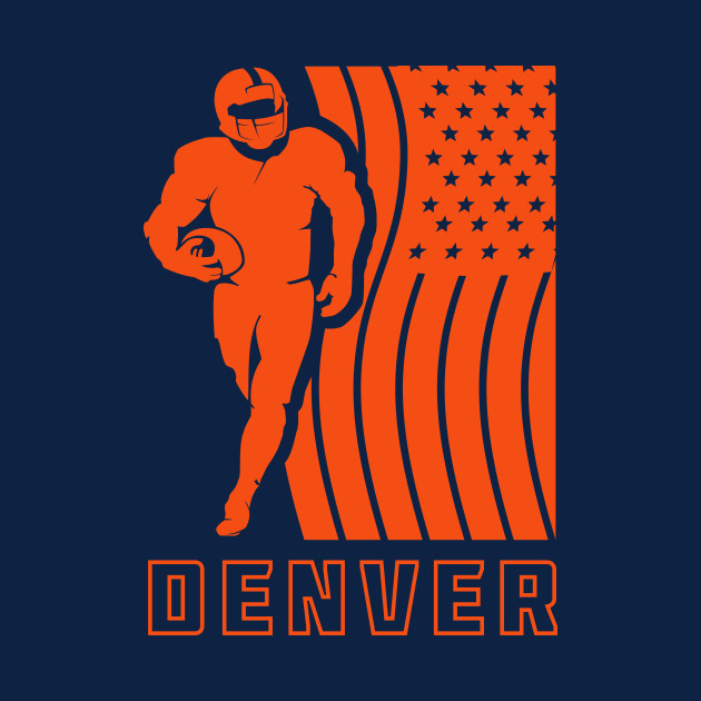 NFL Denver Broncos Football Team Color