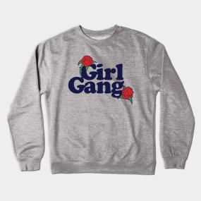 d9e0ceda1 Girl Gang Crewneck Sweatshirt