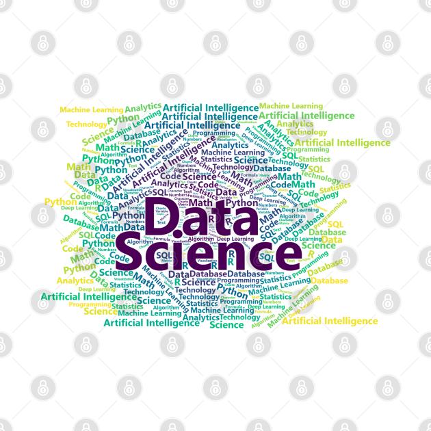 Data Science Word Cloud | Viridis Palette