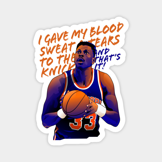 Patrick Ewing - Blood Sweat and Tears
