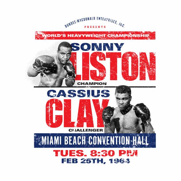 Sonny Liston vs Cassius Clay